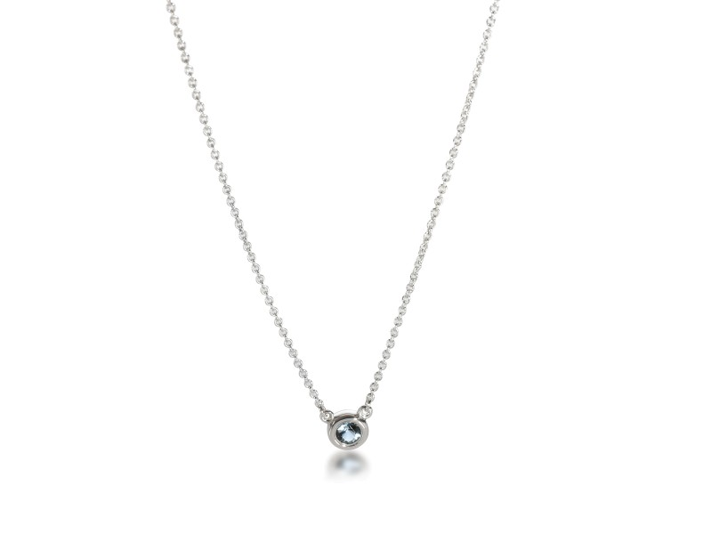 Tiffany & Co. Elsa Peretti Color by the Yard Necklace in Sterling Silver