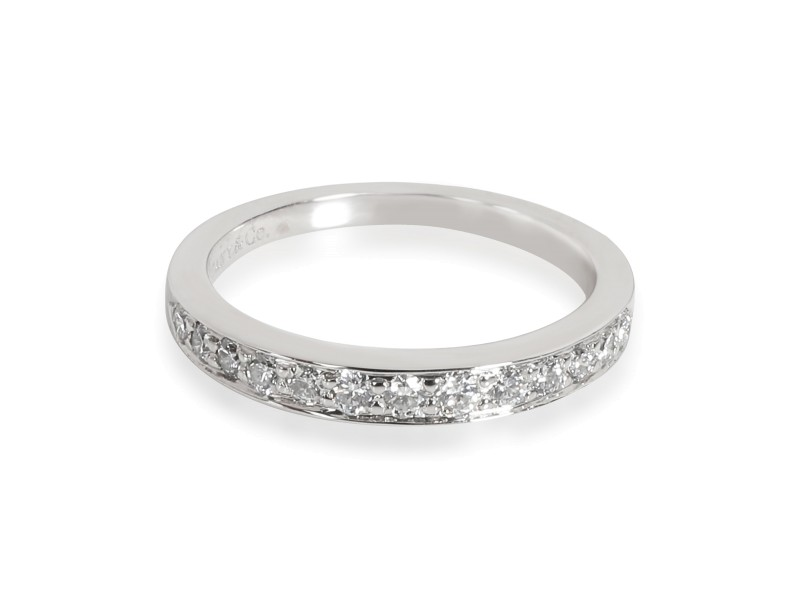 Tiffany & Co. Diamond Wedding Band in  Platinum 0.40 CTW