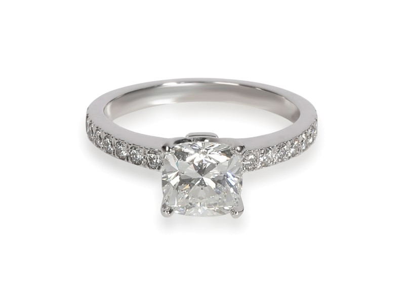 Tiffany & Co. Novo Diamond Engagement Ring in Platinum H VS2 1.17