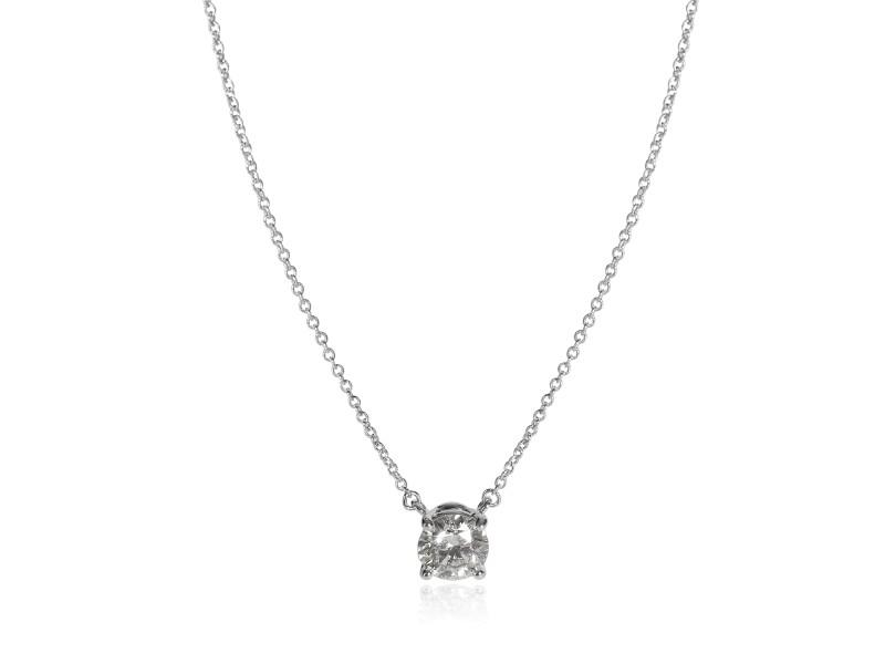 Tiffany & Co. Diamond Solitaire Necklace in   1