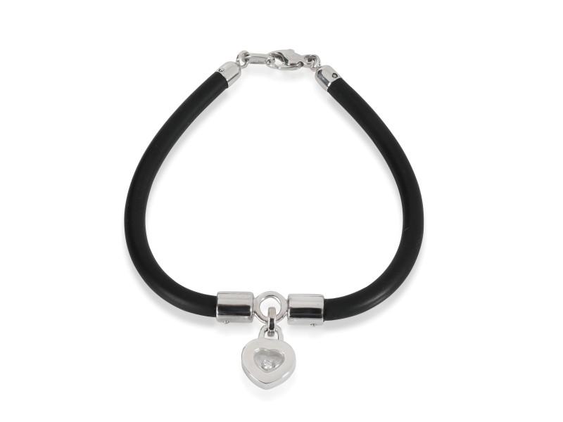 Chopard Happy Hearts Diamond Bracelet in 18K White Gold 0.05