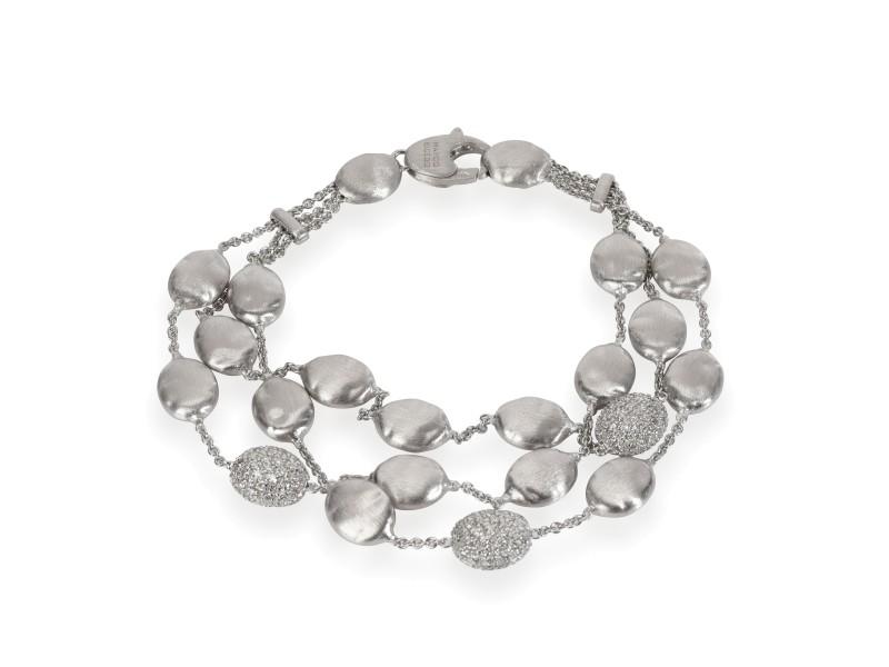 Marco Bicego Siviglia Diamond Bracelet in 18K White Gold 1.40 CTW