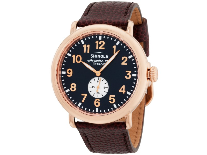Shinola The Runwell 11000168 47mm Mens Watch