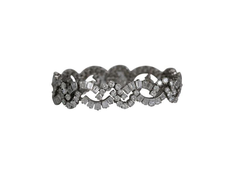 Tiffany & Co. Platinum Diamond Bracelet