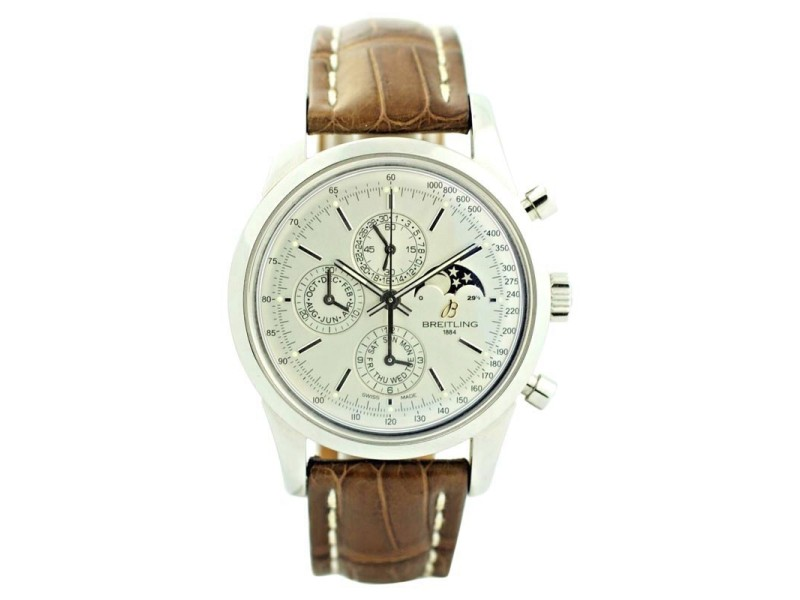 Breitling Transocean A19310 43mm Mens Watch