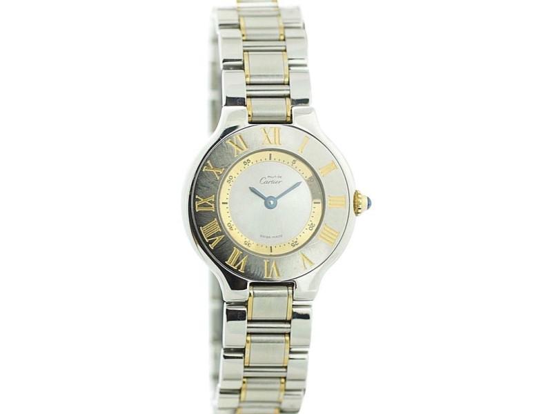 Cartier Must de Cartier 21 1340 28mm Womens Watch