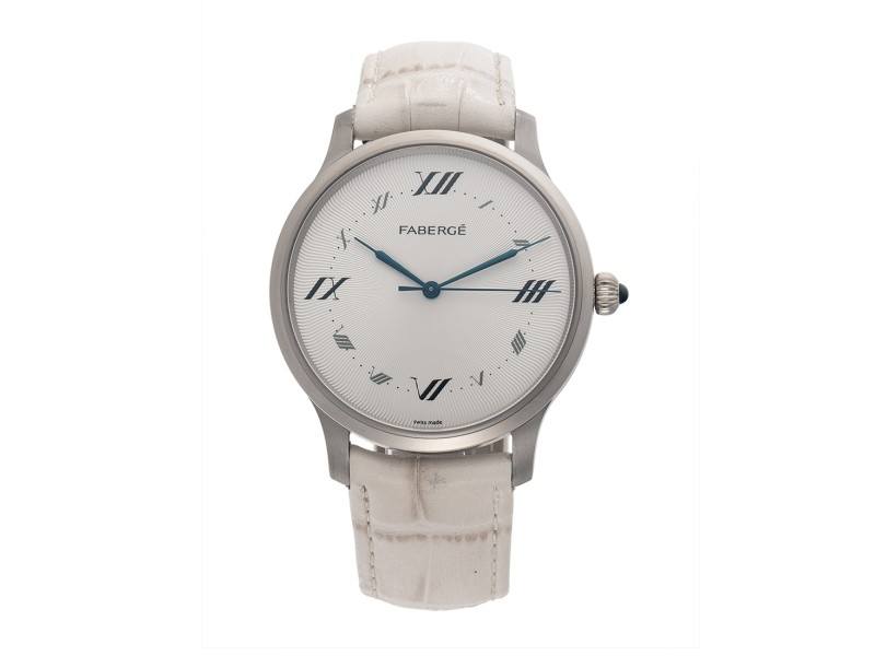 Alexei White Gold 112WA193/7 40mm Mens Watch