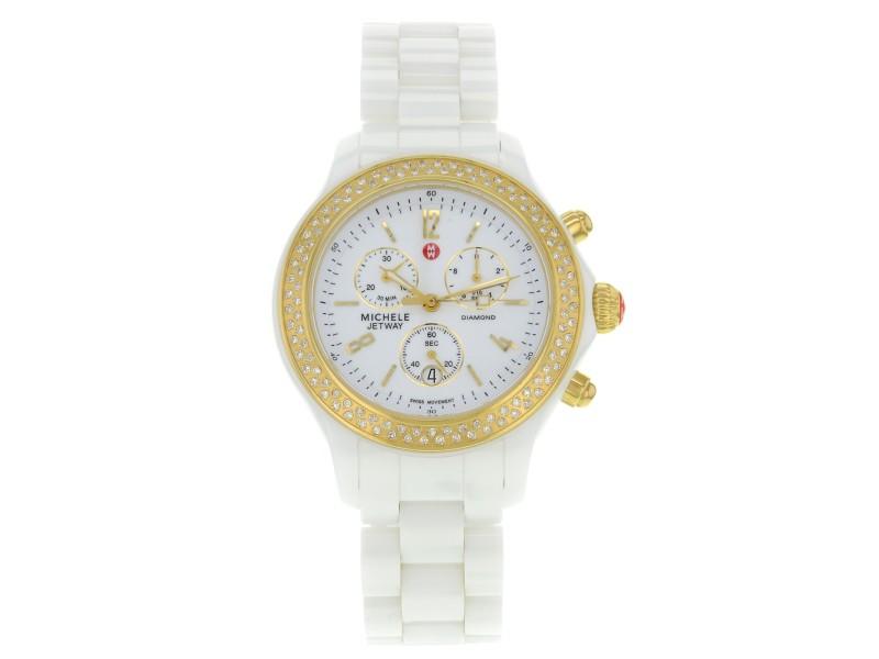 Michele Jetway MWW17B000001 39mm Womens Watch