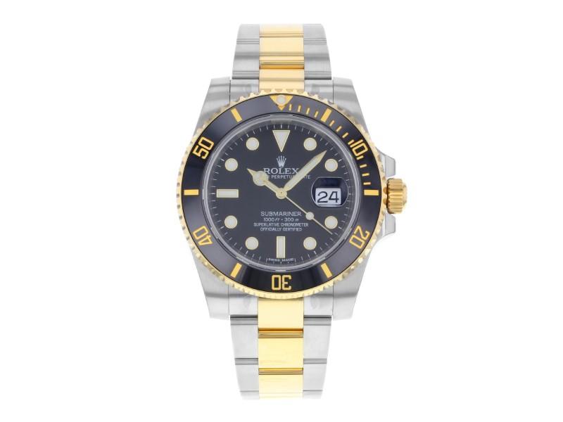 Rolex Submariner 116613ln 40mm Mens Watch