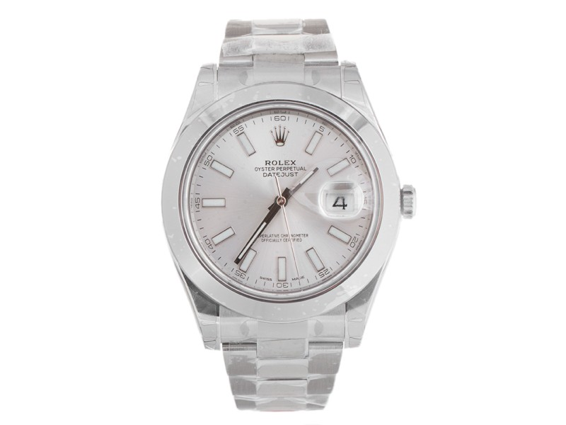 Rolex Datejust II Steel Silver Dial 41mm Watch