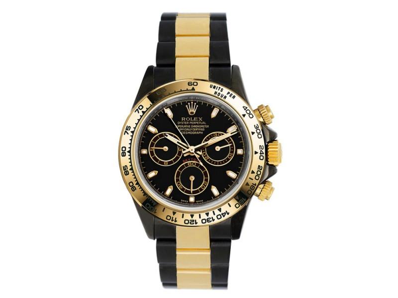 Rolex Daytona 116503 Black Dial 40mm Mens Watch