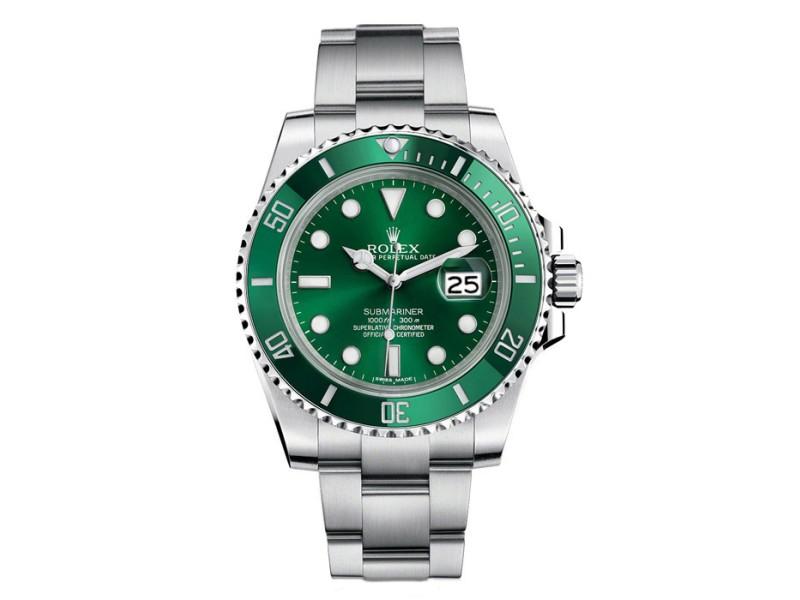 Rolex Submariner Custom Ceramic Green 116610