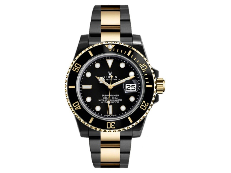 Rolex Submariner 116613 Black Dial 40mm Mens Watch