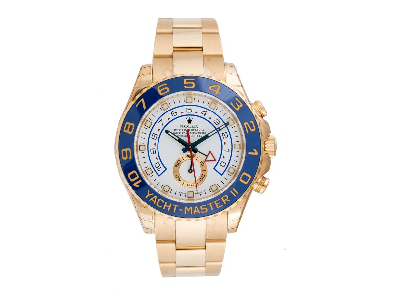 Rolex 116688 Yacht-Master II Oyster Perpetual 44mm Yellow Gold Watch