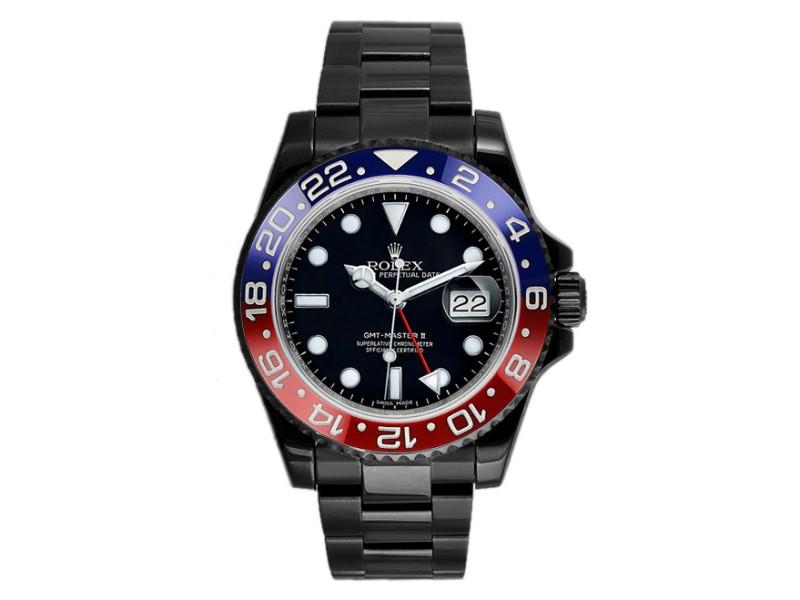 Rolex GMT Master 116710 Black Dial 40mm Mens Watch