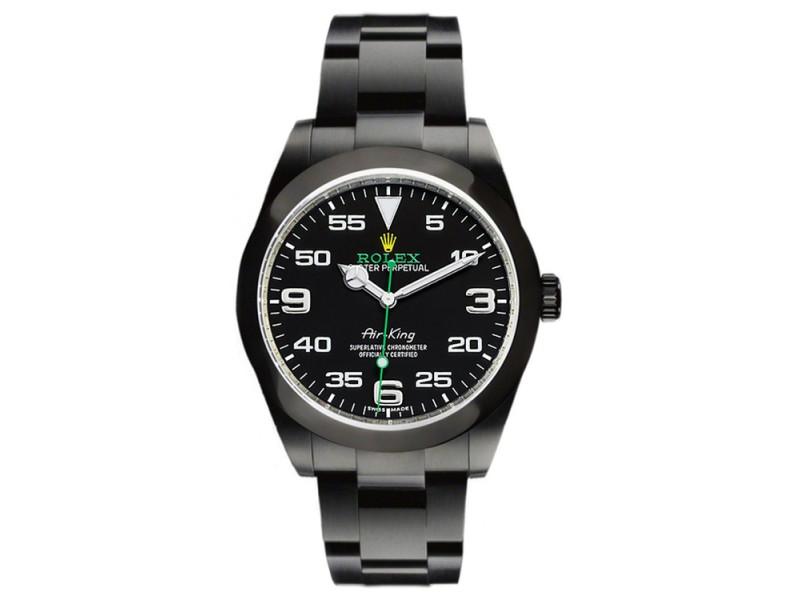 Rolex Air-King 116900 Black Dial 40mm Mens Watch