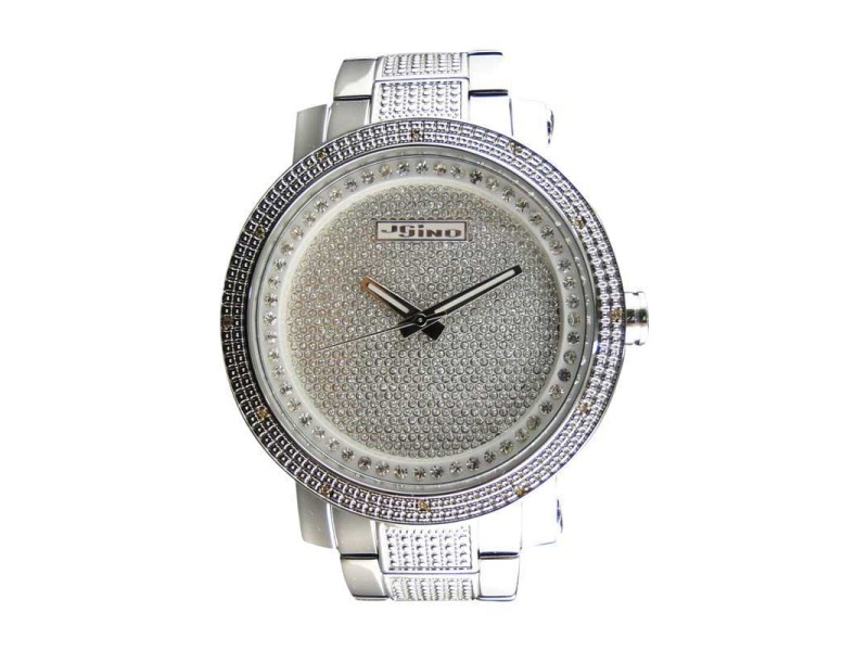 Jojino/Jojo/Joe Rodeo MJ-8020 Icy Genuine Full Illusion Dial Diamond Mens Watch
