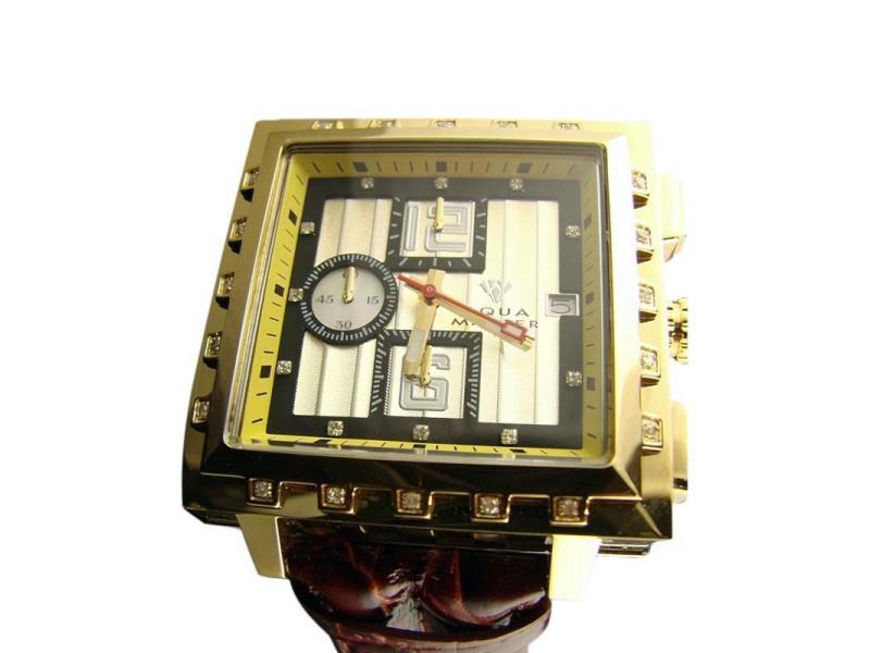 Aqua Master Jojo Joe Rodeo Kc 16-3 Real Diamond Watch