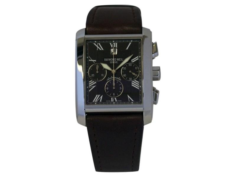 Raymond Weil 4875  Don Giovanni Steel Auto Chornograph Date Watch