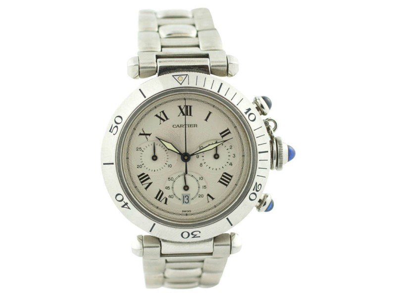Cartier Pasha 1050 38mm Mens Watch
