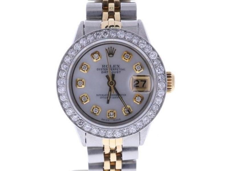 Rolex Datejust 6516 Vintage 26mm Womens Watch