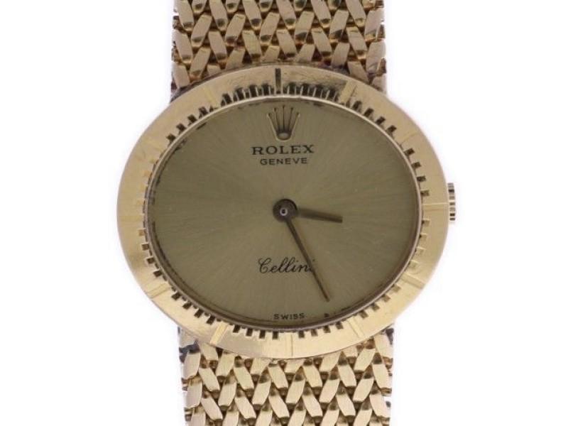 Rolex Cellini 4081 Vintage 25mm Womens Watch