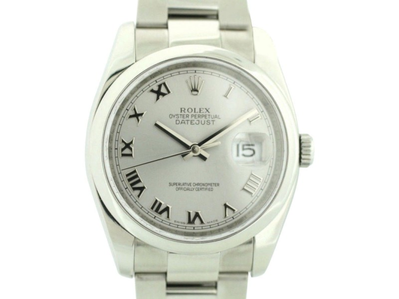 Rolex Datejust 116200 38mm Mens Watch