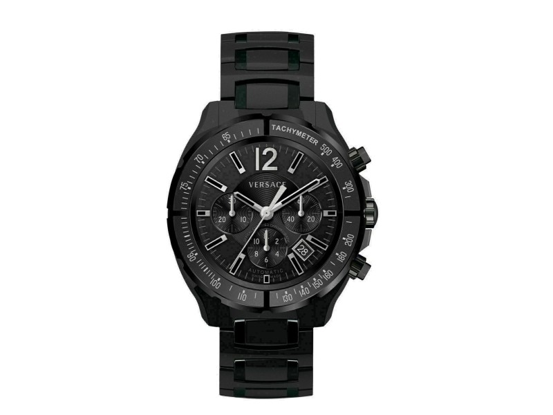 New Mens Versace DV One Chrono Limited Ed. 16CCT9D008 SC09 PVD 44MM Auto Watch