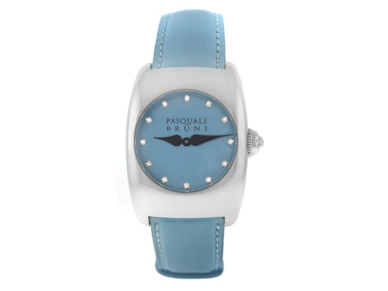 Ladies' Pasquale Bruni PBU 001 AC BD Steel Diamond Quartz 29MM Watch