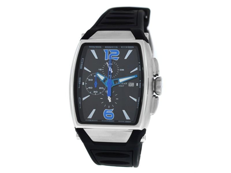 Locman Tremila Ref. 550 Chronograph Men's Titanium Steel Quartz 38MM New Watch