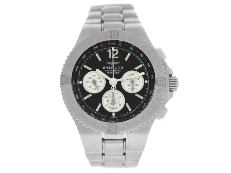 Breitling Hercules A39363 Mens Stainless Steel Automatic 45MM Watch