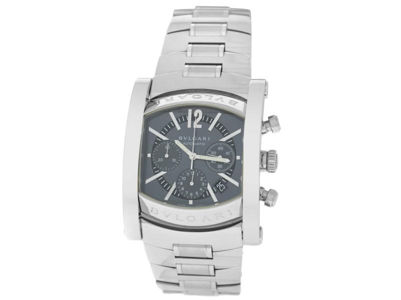 Bvlgari Bulgari Assioma AA48SCH Men's Stainless Steel 38MM Automatic Watch