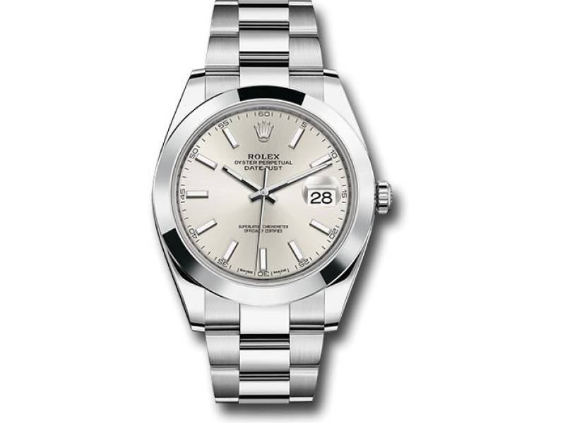 Rolex Oyster Perpetual Datejust 126300 SIO Stainless Steel 41mm Mens Watch