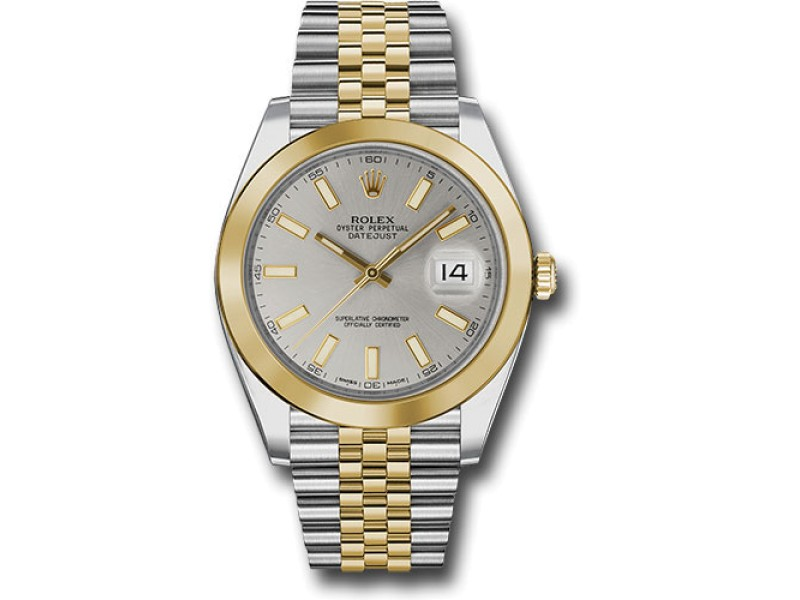Rolex Oyster Perpetual Datejust 126303 SIJ Stainless Steel and 18K Yellow Gold 41mm Mens Watch