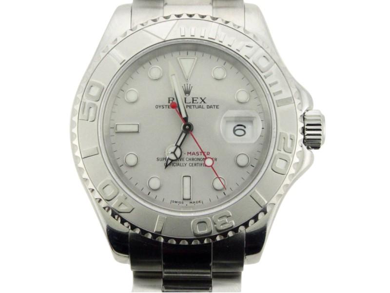 Rolex Yachtmaster 16622 40mm Stainless Steel Platinum Watch