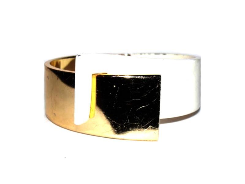 Lanvin Two Tone Runway Bracelet