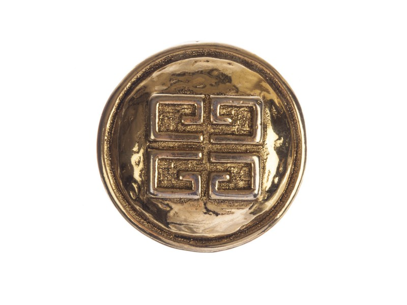 Givenchy Monogram Circular Pin