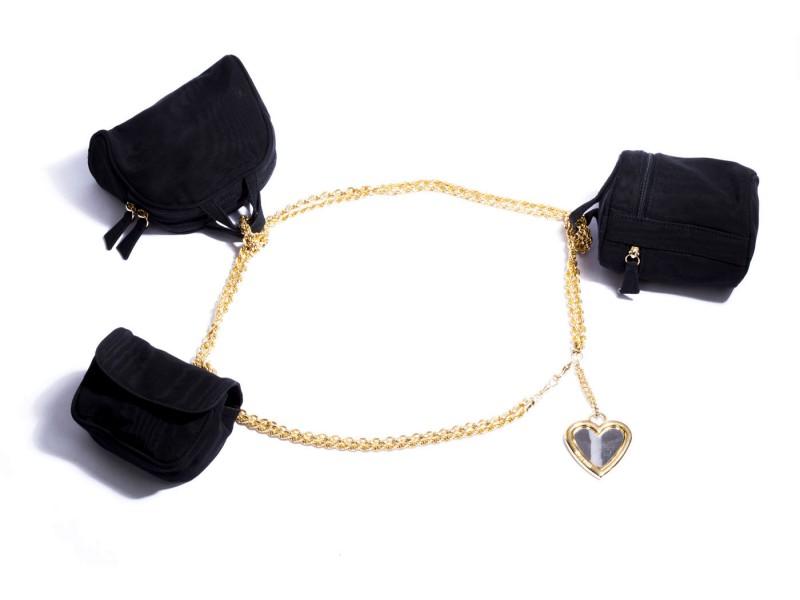 Moschino Bag Belt Necklace