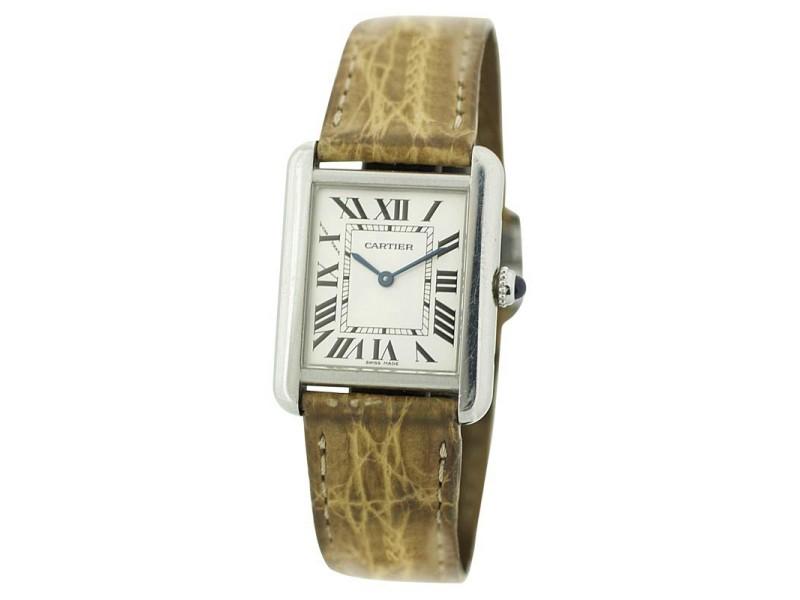 Cartier Tank Solo 2716 24mm Womens Watch