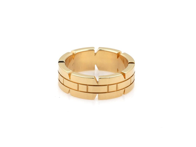 Cartier Ring 18k Yellow Gold Size 4.75
