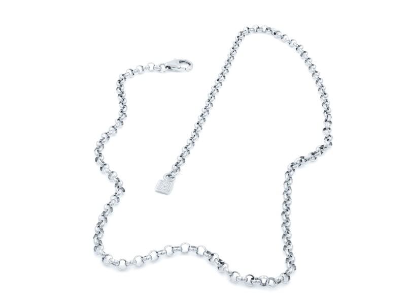 Fendi Vintage Sterling Silver Unisex Chain 925