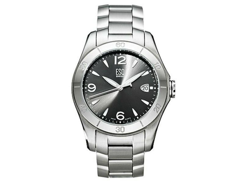 ESQ Aston Stainless Steel Swiss Quartz Mens Watch 07301173