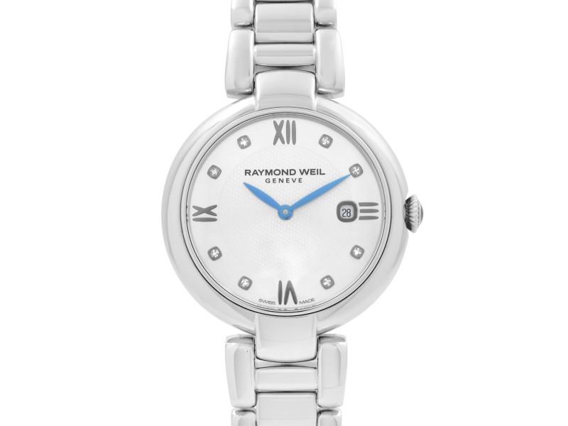 Raymond Weil Shine Etoile Steel Silver Dial Quartz Ladies Watch 1600-ST-RE695