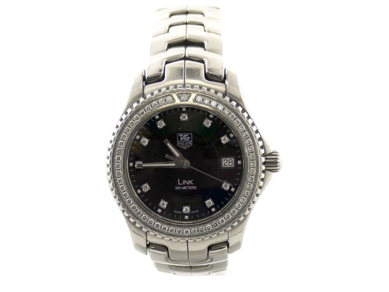 Tag Heuer Link WJ117 39mm Mens Watch