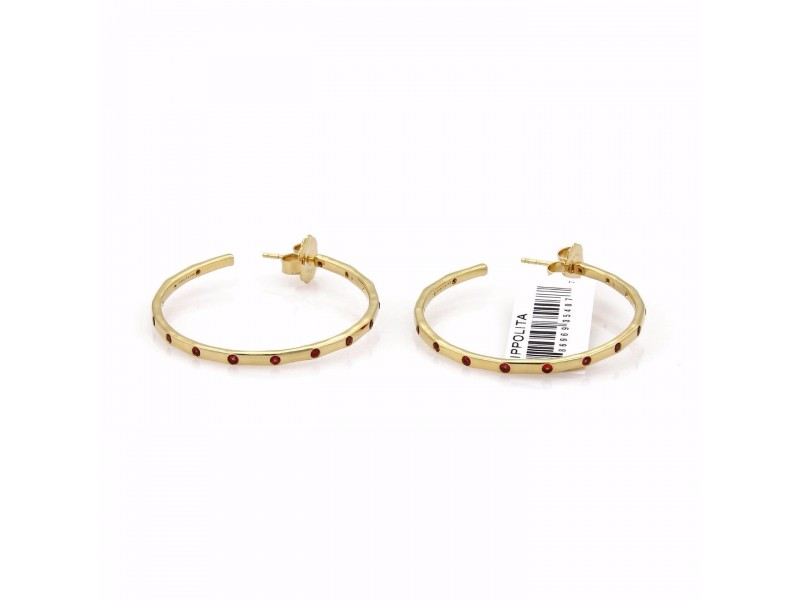 Ippolita Glamazon 18K Yellow Gold Sapphire Earrings