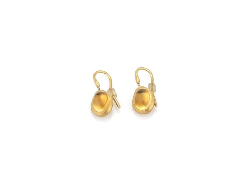 Marco Bicego 18K Yellow Gold Citrine Earrings