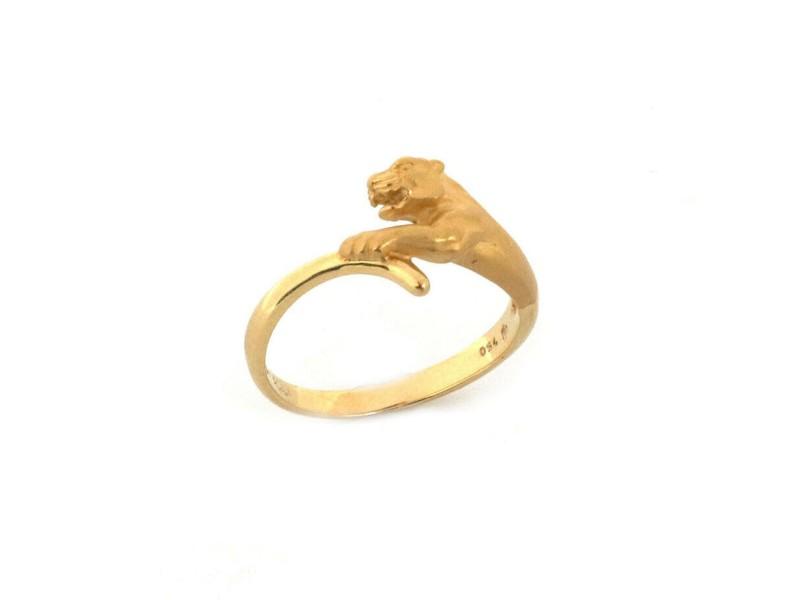 Carrera y Carrera 18k Yellow Gold Panther Ring