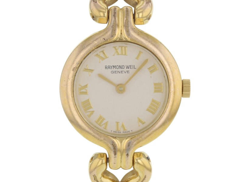 Raymond Weil 5878 Gold Plated Stainless Steel  Quartz Women's Watch