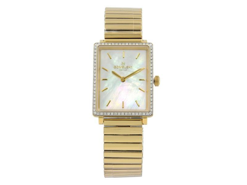 Gomelsky Shirley Fromer MOP Dial Diamond Quartz Womens Watch G0120072642