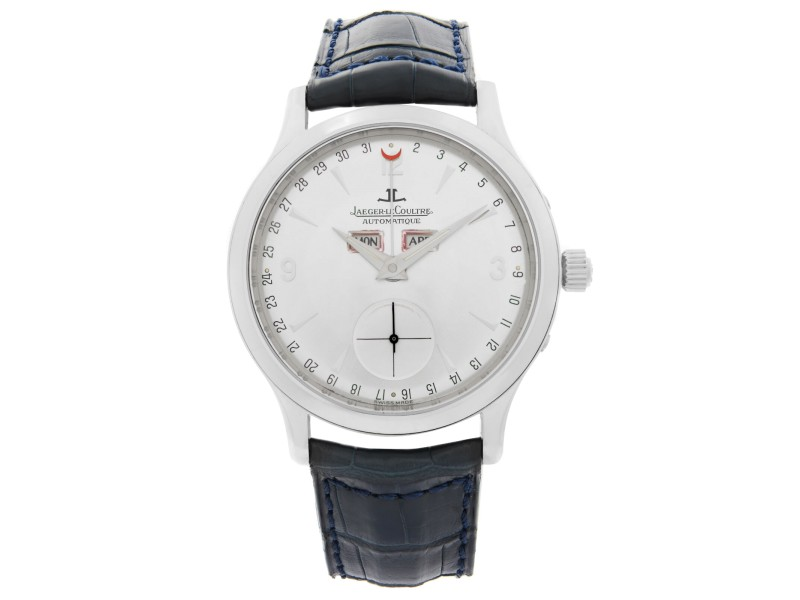 Jaeger-LeCoultre Master Control Steel Silver Dial Automatic Mens Watch 140.8.87